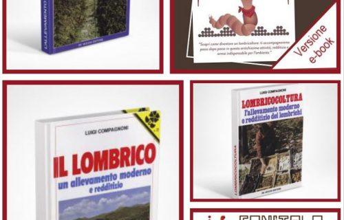 – Promozione –   Pacchetto informativo completo sulla Lombricoltura: 3 libri + DVD + e-book