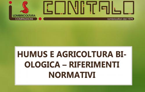 Humus e agricoltura Biologica – Riferimenti normativi