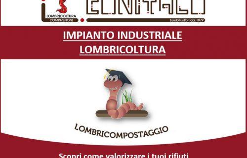 Impianto industriale Lombricoltura