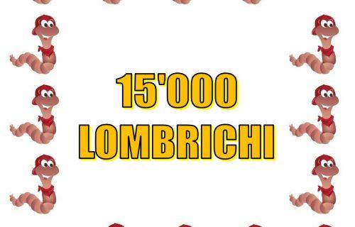 15.000 Lombrichi per lettiera professionale (2 mq)