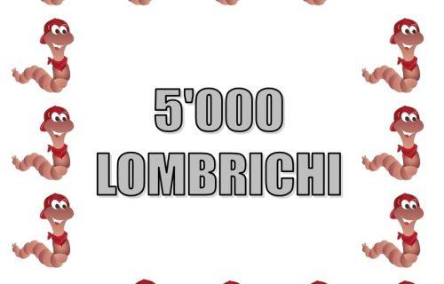 5.000 Lombrichi per compostaggio domestico