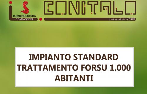IMPIANTO STANDARD TRATTAMENTO FORSU 1.000 ABITANTI
