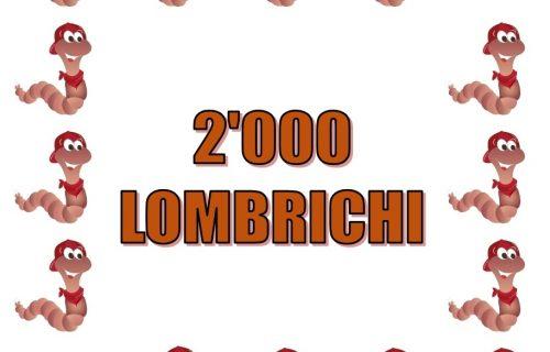 2.000 Lombrichi per compostaggio domestico