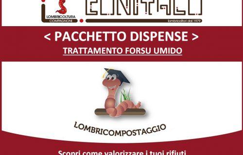 < Promozione > Pacchetto dispense: trattamento Forsu/Umido