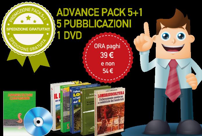 > PROMOZIONE <    PACCHETTO  INFORMATIVO COMPLETO SULLA LOMBRICOLTURA: 4 LIBRI + 1 DVD